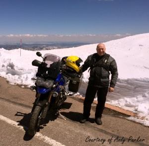 Triumph Explorer Pikes Peak Andy Parker
