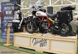 Adventure Out Ducati Desert Sled MotoADVR