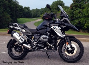 BMW R1200GS Andy Parker