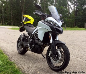 Ducati Multistrada 950 Right Front Andy Parker
