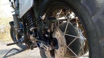 Spiegler Bleeder Banjo Bolt Installed Triumph Scrambler MotoADVR