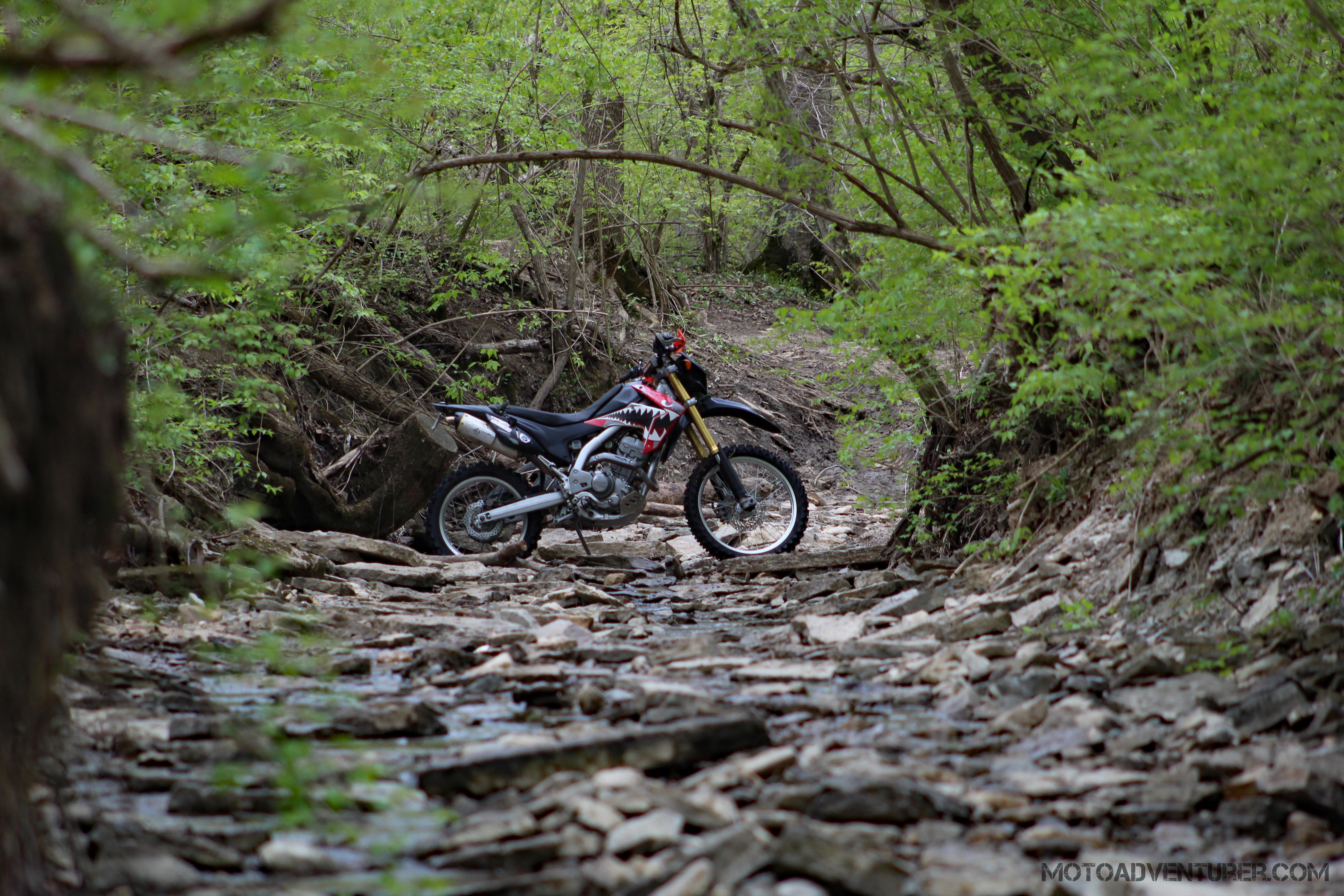 CRF250L Creekrocks MotoADVR