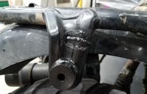 Welded Exhaust Hanger MotoADVR