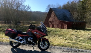 BMW R1200RT Barn Wide Andy Parker