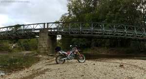 Honda CRF250L Anothony Road MotoADVR
