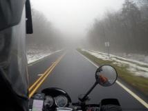 Cherohala Skyway Fog