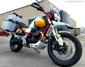 Moto Guzzi V85TT MotoADVR