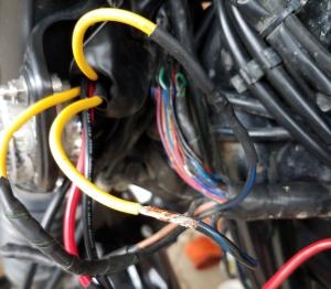 Scrambler Re-wire MotoADVR