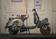 "Bike #29 Mark Radlinski-1981 Vespa ""Kirby"""