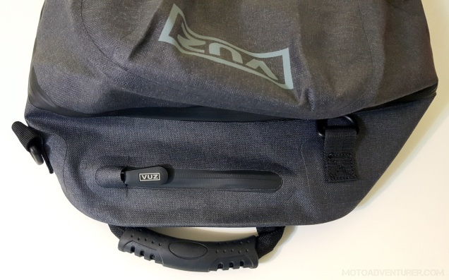 VUZ Backpack small top pocket MotoADVR