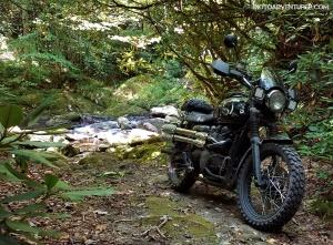 Triumph Scrambler GravelHala Creekside MotoADVR