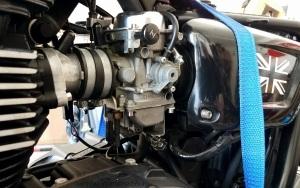Triumph Bonneville carbs MotoADVR