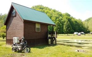 Natural Bridge Campground Cabin MotoADVR