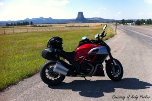 Ducati Daivel Devils Tower Andy Parker