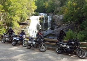 Bald River Falls Bikes Dragon Raid MotoADVR