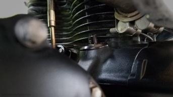 Oil Filler Cap Joker Machine side Triumph Scrambler MotoADVR